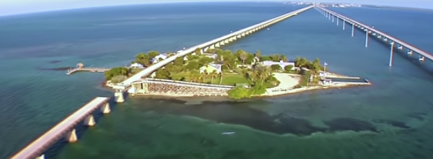Photo of The Florida Keys and the Highway that goes to the Sea