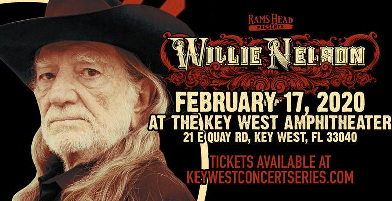 Photo of Willie Nelson concert at The Key West Amphitheater – Feb 17, 2020