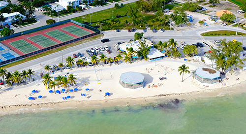 Open Key West - Higgs Beach Aerial