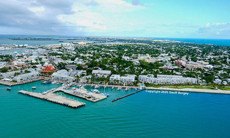 Key West Aerial shot - 2020