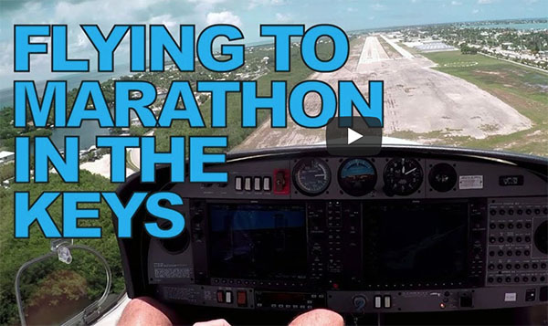 marathon MTH from pompano - fly along