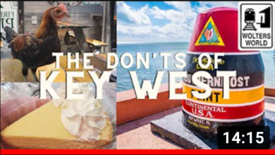 The Dont's of Key West, FL